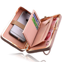 Women Wallet Phone Bag Case For Iphone 7 6 5 4 S 6s 5s 4s Pl...