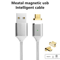 Newest Design Magnetic Charging Cable Micro USB Charging Cab...