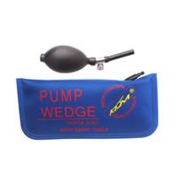 새로운 도착 KLOM 범용 에어 웨지 블루 컬러 자물쇠 도구 자물쇠 공급 무료 배송