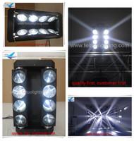 Amerika Party DJ Licht Moving Head LED Spinne Licht 8x10w weiß oder RGBW Moving Head Licht