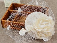 Hot sales Bridal Flowers Wedding Jewelry Pure hand lace clot...