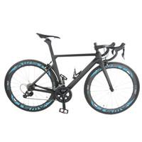 AWST новый стиль полный углерода полный велосипед T1000 UD полный велосипед с R8000 groupset колеса руль седло небесно-голубой рама бесплатная доставка