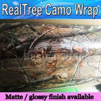 RealTree Camo Vinyl Wrap Mossy oak Tree Leaf camuflaje Car Wrap CAMA CAMO TREE PRINT DUCK diseño gráfico tamaño 1.52 x 30m / Roll
