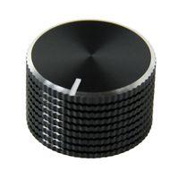 Freies verschiffen elektronische potentiometer knopf DIY Digital zubehör Sound volumen schalter knob Aluminiumlegierung timer knob