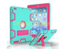 3 في 1 صدمات iPad Case الثقيلة واقية حامل الوقود غطاء لباد برو 9.7 10.5 بوصة 234 الهواء البسيطة 34 جديد Samsung Tab A E LG G PID AMAZON