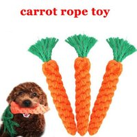 Carrot Pet Dog Toy Chew Toys Top Quality 26cm Long Braided C...