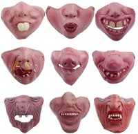 Fun Scary Horrible Mask Party Halloween Fool' s Day Clow...