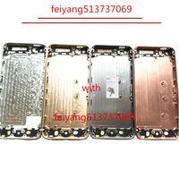 1 قطع الجودة الإسكان الكامل باب البطارية الغلاف الأوسط الإطار المعدني ل فون 5 5 جرام 5 ثانية استبدال الجزء
