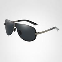 2020 Nouvelle arrivée Marque de mode design grenouille Voyage hommes bonne lunettes de soleil de qualité classique cerclées Homme polarisé de conduite Goggle