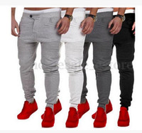 Mens Joggers Pants 2017 fashion brand workout fitness bodybu...