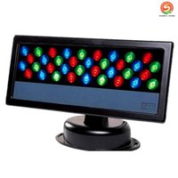 36Pcs*3W LED Wall Washer Waterproof LED Floodlight RGB Stage...