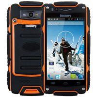 """Original Descoberta V8 IP68 À Prova de Choque À Prova de Choque Telefone MSM8212 Dual Core 4 """"tela 2800 mAh V8 Smartphone + B"""