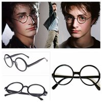 Óculos de Harry Potter de alta qualidade Frame Round Eyeglasses Halloween Costume Harry Potter Style Glasses Frame LJJY201