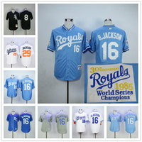 Bo Jackson Jersey Kansas City Royals Baseball 1985 1987 Turn...