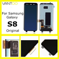 Display LCD originale touch screen S8 touch screen per Samsung G955 G955F G955A G955F G955F G955F G955P G955F G950A Super OMED