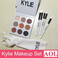 Kylie Jenner Eyeshadow Palette + Makeup Brush 5 pcs Set Holi...