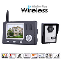 3. 5 Inch 2. 4Ghz Wireless Two Way Intercom Video Door Phone