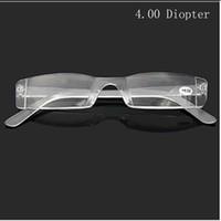 Hot Limpar Sem Aro Óculos de Leitura Templo de Metal 1.00 a 4.00 Dioptria nm2 frete grátis