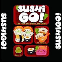 Sushi Go! Board Game The Pick And Pass Cards Game 2- 5 Player...