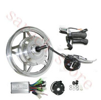 12 인치 250W 24V 전기 후륜 허브 모터, 전기 자전거 변환 키트, 전기 스쿠터 모터 키트