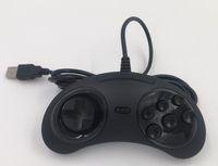 새로운 세가 제네시스 / MD2 Y1301 USB 게임 패드 게임 컨트롤러 6 버튼 PC MAC 메가 드라이브 게임 패드 용 세가 USB 게임 조이스틱 홀더