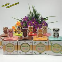 Wholesale-50pcs لطيف الحيوانات الحلوى مربع الشوكولاته التغليف مربع هدايا الطفل دش حزب زينة الحسنات هدية مربع