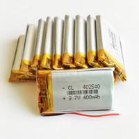 3.7 в 400 мАч 402540 литий-полимерный LiPo литий-ионный аккумулятор литий-ионные аккумуляторы питания для MP3 MP4 наушники DVD мобильный телефон камеры PSP игрушки