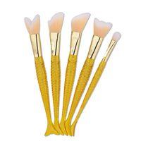 Новое прибытие высокое качество русалка 4 шт. кисти для макияжа Макияж инструменты бесплатная доставка dhgate vip продавец