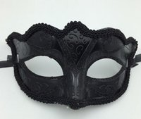 Black Venice Masks Masquerade Party Mask Christmas Gift Mard...