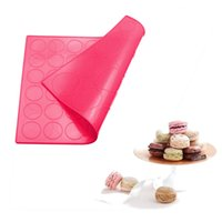 2 Sides Macaron Silicone Mat Double Face Macaroon Mat 48 wit...