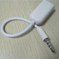 3.5mm per cuffie per auricolari da 1 a 2 Dual Female Y Splitter Stereo Audio Cable Adapter Jack per il telefono mobile spedizione gratuita 100pcs / lot