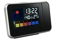 الجديدة داخلي رطوبة ميزان الحرارة المنبه LCD العرض الرقمية الرطوبة درجة الحرارة متر 0 محطة ~ 50C الطقس Termometro 100PCS