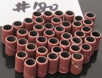 전문 매니큐어에 대한 전기 네일 드릴을위한 도매 500Pcs 180 # 네일 파일 sanding 밴드