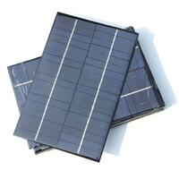 Polykristalline 4,2W 18V Solarzellen Solarmodul DIY Solar Panel Ladegerät Power System für 12V Batterie 200 * 130mm Kostenloser Versand