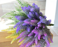 New Provence lavender flower silk tomentum artificial flower...