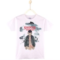 2017 Kids Clothes Children T- shirts Stranger Things 100% Cot...
