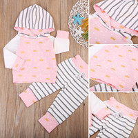 Casual Toddler Outfits Baby Boys Girls Clothing Set Crown Ho...