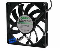 NIDEC 8010 12V 0.25A 8CM U80R12MUA-57 Ventilateur de refroidissement ultra fin à 2 lignes