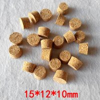 15*12*10mm Glass Test Tube Stoppers Small Glass Bottle Soft ...