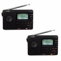 Wholesale- 2pcs TIVDIO V- 115 FM AM SW Radio Multiband Radio R...