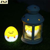 Wholesale  Een Lamp Japanse Anime Yellow Ei Licht Up Kinderen Speelgoed Lui  Eigeel Yellow Slaap LED Nachtlampje Leuke Versieren Tafellamp