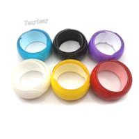 Eröffnetes Acrylkind-Armband-Art- und Weisefeste Süßigkeit-Farben-Plastikarmbänder für Geschenk 24pcs / lot geben Verschiffen frei