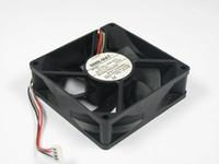 NMB 3110KL-09W-B75, GA1 DC 24.5 V 0.21A 4-wire 4-pin bağlayıcı 80mm 80x80x25mm Sunucu Kare Soğutma Fanı