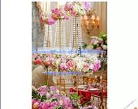 wedding wedding supplies gold new produce wedding decoration tall wedding centerpiece vases