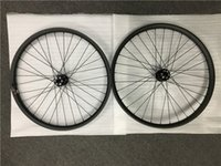 27. 5er Carbon wheelset 35mm width mountain bicycle tubeless ...