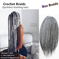 Free ship 3X Freetress Jumbo Box Braids crochet braids hair ...