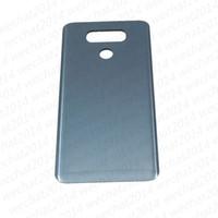 Porte arrière de la batterie de remplacement du verre de remplacement pour LG G6 H870 H871 LS993 VS998 gratuitement DHL