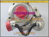 RHF5 RHB5 02 876A 8971480752 Turbocompresseur Turbo Turbine Pour ISUZU Trooper 1991- Rodeo Campo D-MAX OPEL Monterey 4JG2TC 4JG2 3.1L
