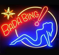 17 * 14 Bada Bing Handcrafted Club Beer Bar Club Store Affiche Neon Light Sign