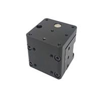 Sollevamento manuale preciso Asse Z manuale Slot da laboratorio Vertical Translation Stage Elevatore a scorrimento ottico Lift da 5mm PT-SJ80